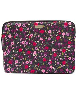 13 Inch Boho Floral Laptop Sleeve