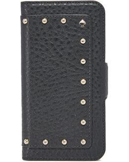 Embellished Wrap Folio Iphone 7 Case