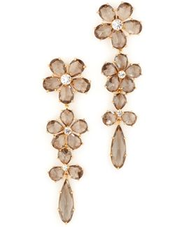 In Full Bloom Linear Earrings
