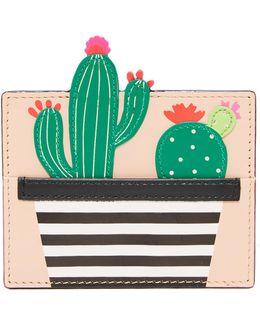 Cactus Card Holder