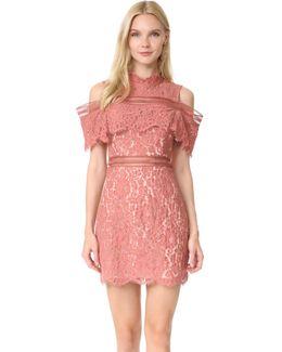 Oblivion Lace Mini Dress