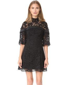 Star Crossed Lace Mini Dress