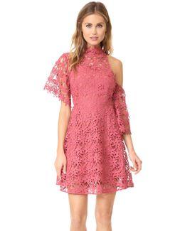 Stay Close Lace Mini Dress