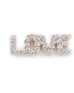 Love Stud Single Earring