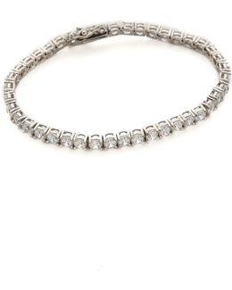 Round Cz Tennis Bracelet