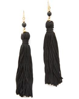 Bead & Tassel Earrings