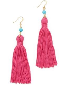 Bead & Tassel Earrings