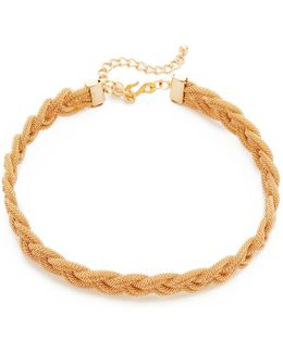 Interwoven Choker Necklace