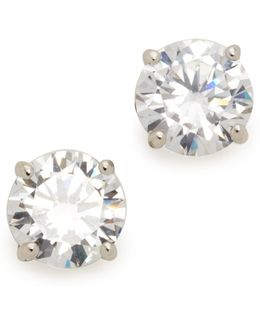 Classic Luxe Four Prong Earrings