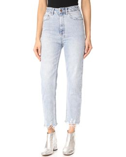 Chlo Wasted Super Freak Straight Leg Jeans