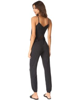 Drawstring Back Jumpsuit