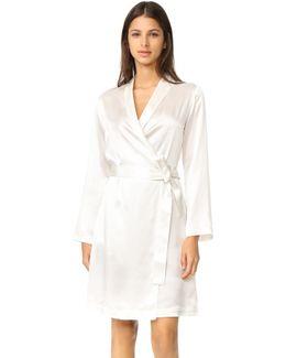 Silk Short Robe