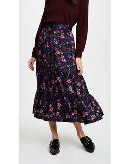 Forest Flower Skirt