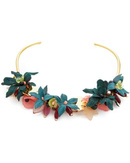 Vietnam Garden Collar Necklace