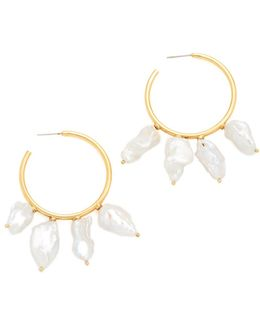 Keshi Cool Hoop Earrings