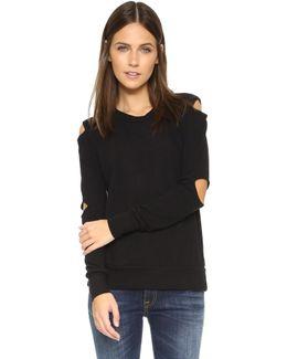 Cutout Sweater