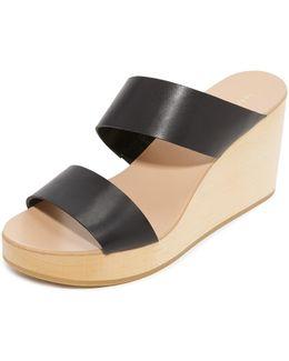 Mason Wedge Sandals