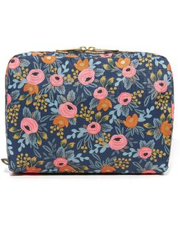 X Rifle Paper Co. Extra Large Rectangular Cosmetic Case