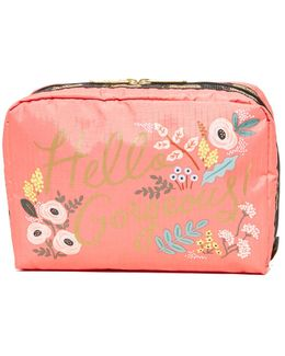 Extra Large Rectangular Cosmetic Case