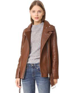 Selenia Leather Jacket