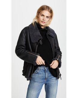 Minna Shearling Jacket