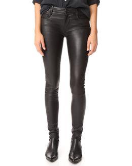 Peppa Leather Pants