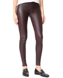 Navi Leather Pants