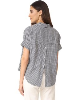 Courier Button Back Shirt