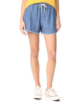 Pull On Cutoff Shorts