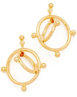 Earrings Double Circles