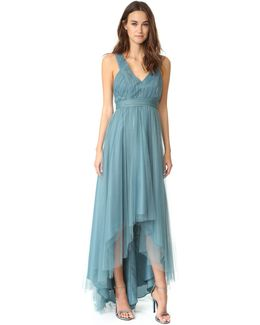 Tulle High Low Gown