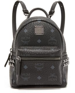 Baby Stark Studded Coated Canvas Backpack