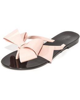 Harmonic Bow Iii Thong Sandals