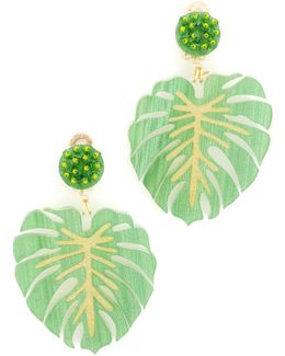 Carmen Miranda Clip On Earrings