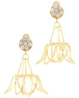 Florecina Clip On Earrings