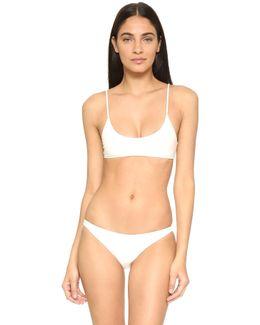 Hermosa Scoop Bikini Top