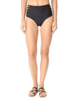 Gold Coast High Waisted Bikini Bottoms