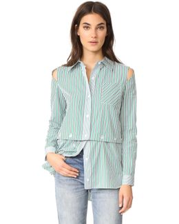 Stripe Fractured Shirting