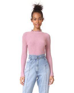 Stardust Ribbed Pullover
