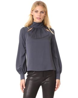 Simona Silk Top