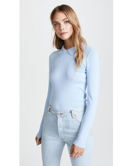 Pointed Collar Pullover