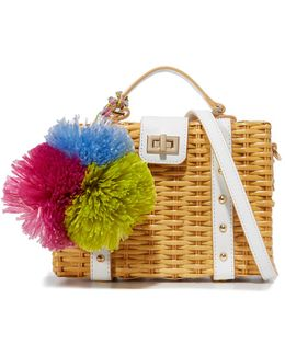 Wicker Small Satchel