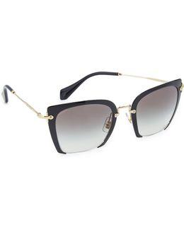 Cut Frame Sunglasses