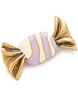 Striped Candy Brooch