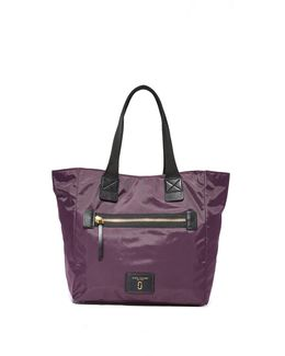 Nylon Biker North / South Tote