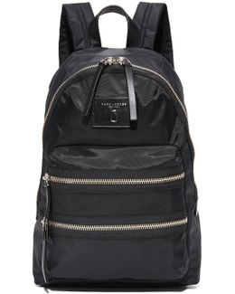 Nylon Biker Backpack