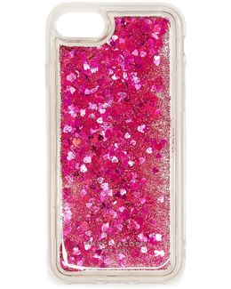 Floating Glitter Iphone 7 Case