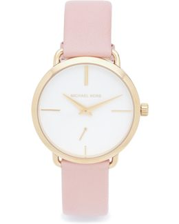 Partia Leather Watch
