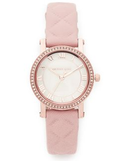 Petite Norie Leather Watch