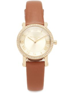 Petitie Norie Leather Watch
